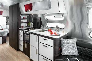 Airstream Colorado kitchen