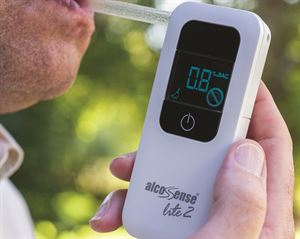 The AlcoSense Lite 2 Breathalyser