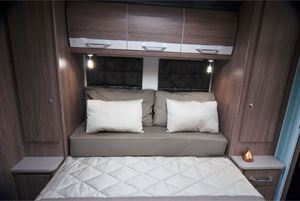 For 2020, the bed retracts further than in previous models