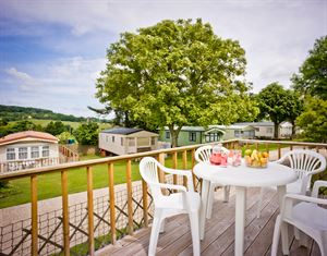 Holiday homes are also available to hire