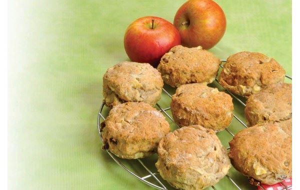 Apple and yoghurt scones
