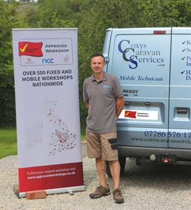 Coxys Caravan Services Technician, Lee Cox
