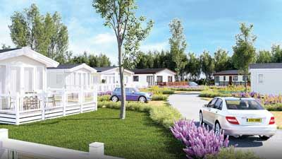 Artist's impression of Woodland View, Meadow Lakes