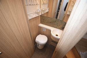 The washroom in the The Arto 78F motorhome