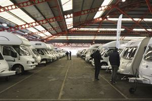 Selling a motorhome at an auction (Photo courtesy of Warners Group Publications)