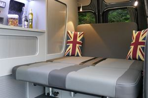 Auto Camper LWB Leisure van Hi-line Vari-slide seat Chaise position