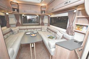 Auto Sleeper EL-2021 Motorhome interior with rear lounge layout