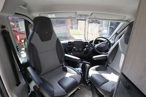 The cab in the Auto-Trail Tribute 660 campervan