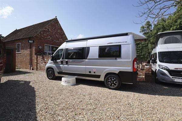 The Auto-Trail Tribute 660 campervan