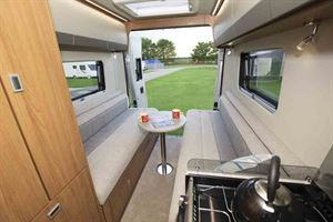 The spacious rear lounge is a real plus point