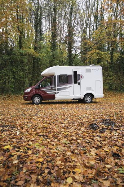 The Auto-Trail Tribute F60 motorhome