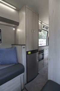 Inside the Auto-Trail Adventure 65 campervan