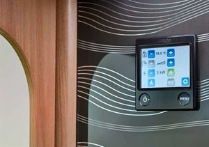 All Autographs get Alde radiator heating with a touchscreen control
