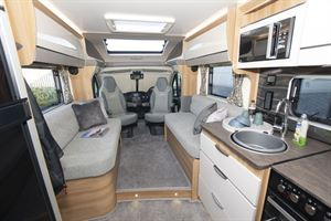 From rear to front in the Bailey Autograph 79-2F motorhome