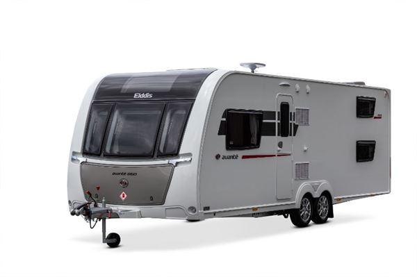 Elddis Avanté 868 caravan