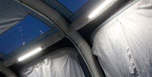 Lighting is a great accessory for an awning