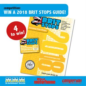 Win a Brit Stops guide