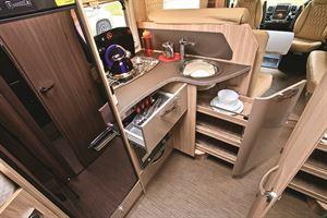 Plenty of kitchen storage