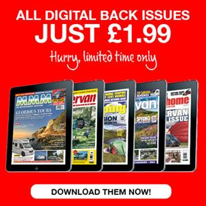 Motorhome and caravan magazine back issue sale starts now!