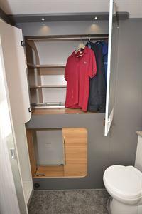 The wardrobe in the Bailey Adamo 69-4