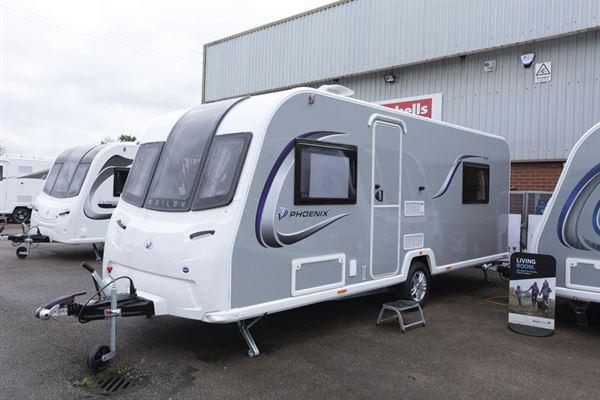 The Bailey Phoenix + 640 caravan