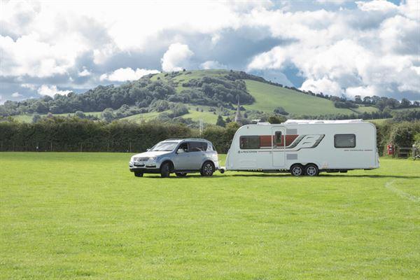 A Bailey caravan