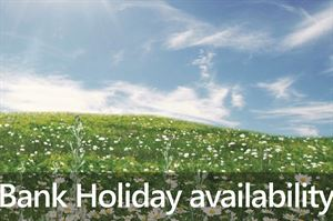 Bank Holiday availability