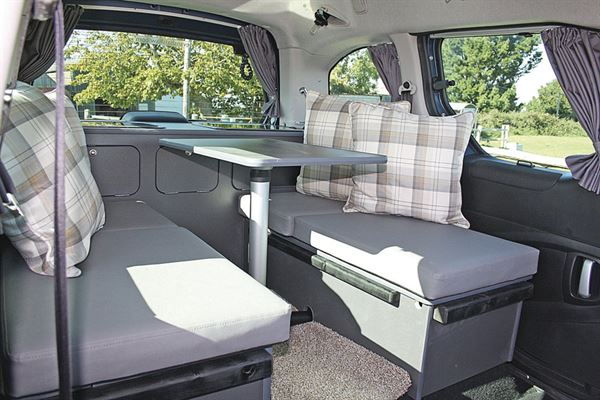 A campervan from Chapel Motorhomes