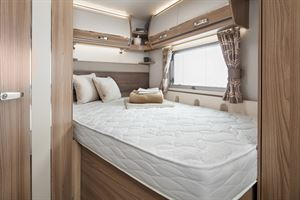 The 560 comes with a rear French bed layout