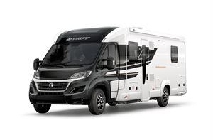 The Swift Bessacarr 560 is a low-profile coachbuilt