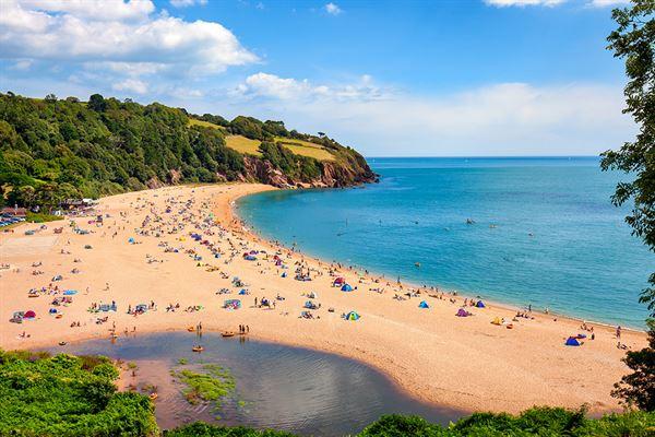 Blackpool Sands in Devon
