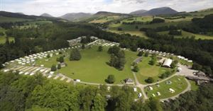 Blair Castle Caravan Park introduces five new bigger pitches for the 2019 season