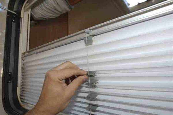 With a bit of patience and an hour to spare, you can repair damaged cassette blinds in your motorhome - picture courtesy of Peter Rosenthal
