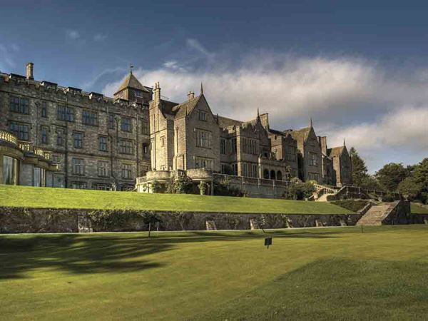 Bovey Castle, near Dartmoor View Touring Park - picture courtesy of VisitEngland