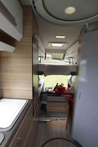 Looking through to the rear of the campervan © Warners Group Publications, 2019
