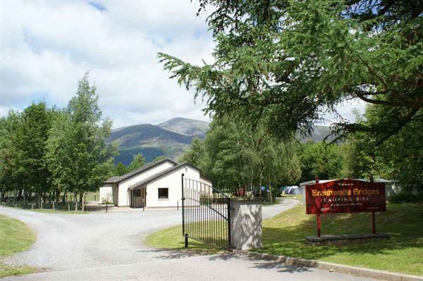 PIC (Braithwaite) On-site facilities block at Braithwaite Bridges campsite