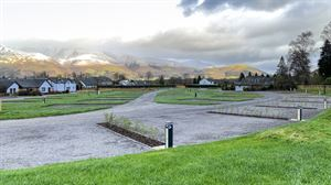 Braithwaite Village Club site, in the Lake District National Park