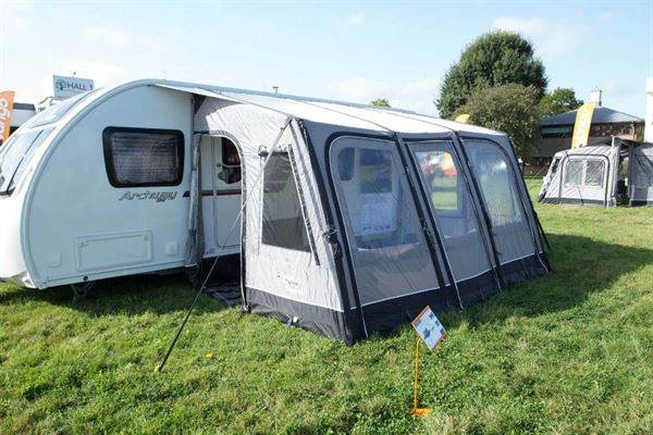 Caravan awnings & Caravan awnings and porches: Whatu0027s new for 2017 - Advice u0026 Tips ...