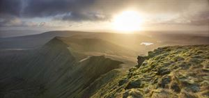 The stunning Brecon Beacons (pic courtesy Visit Britain/Joe Cornish)