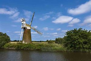 A windmill on the Norfolk Broads - picture courtesy of David Chapman