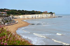 Stone Bay in Broadstairs - picture courtesy of Thanet District Council