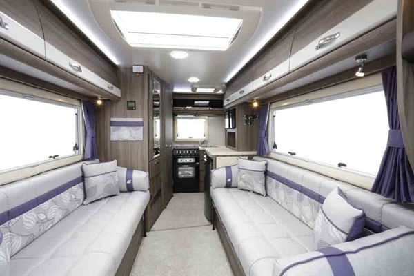 The Auto-Sleeper Broadway has an impressively long lounge - © Warners Group Publications, 2019