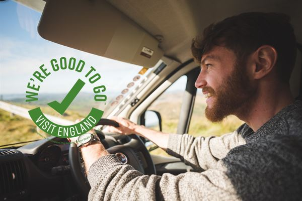 Campervan hire company, Bunk Campers, awarded Good to Go mark