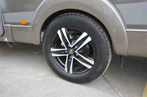 The limited edition model has alloy wheels © Warners Group Publications