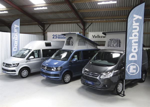 Buy a campervan from reputable dealer