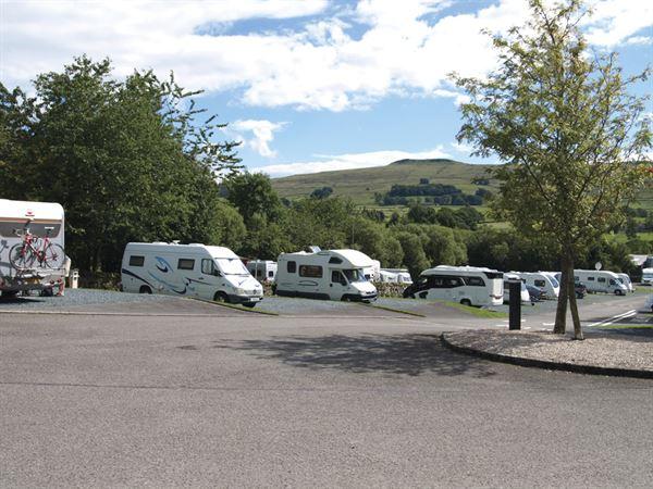 The Caravan and Motorhome Club's Hawes site