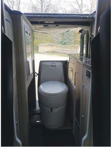 CCCampers Witley campervan rear view
