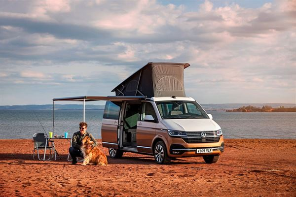 The VW California 6.1 models will be on display at the NEC
