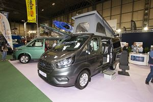 CMC's HemBil Escape on a Ford Transit Custom