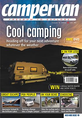 CAMPERVAN ISSUE 1 2016